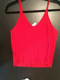 women's red spaghetti strap top Thorold, L2V 4M1