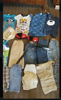 toddler's assorted clothes Toppenish, 98948