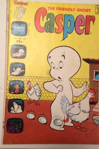Casper comic book