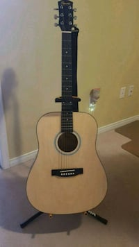 Guitar with stand and case Mississauga, L5M 7N5