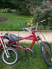 red and black BMX bike Brambleton, 20148