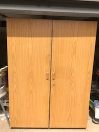 brown wooden 2-door wardrobe Covina, 91722
