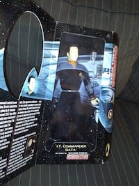 "Playmates 12"" Special Collector's Edition Star Trek Lt. Commander Data Insurrection 1998  Brand new in the box and never opened.  Minor dings at the bottom of the box as in the pictures.  Very rare and collectible doll. Paramount toys made by Playmates SH Toronto"