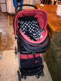 baby's black and pink stroller Brownsville, 78521