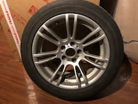 BMW -M3 rimes and winter tires 18 inch tires 255 /45/18 Laval