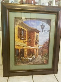 brown wooden framed painting of house Philadelphia, 19148