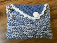 Crochet Clutch Bag - lined, charms Airdrie, T4B 0E4