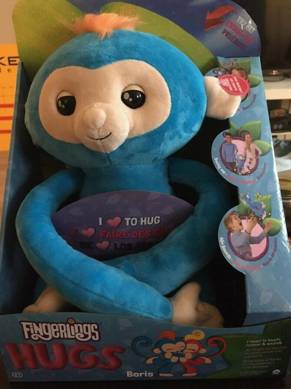 Fingerling Hugs - BORIS - NEW TOY c358eb9d-3c43-48c6-b9d5-34b6665144b0