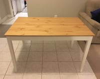 Wooden kitchen table Washington
