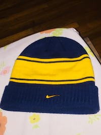 blue and yellow Nike beanie cap Wichita, 67214