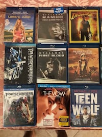 Blu Ray Lot, $5 each or 3 for $12. Will mark off titles as they sell.  Punta Gorda, 33955