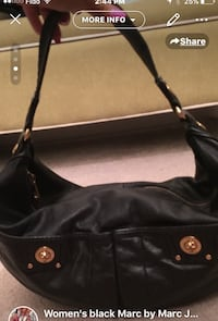 Marc Jacobs -New leather shoulder bag Vancouver, V5S