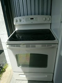 gray and black induction range oven Marlow Heights, 20748