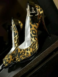GUESS Leopard Print Heels Kitchener