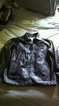 Mens Leather jacket Kokomo, 46901