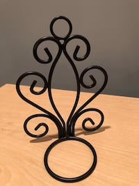 Candle holder made in iron
