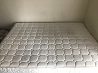 Queen Size Mattress & Bed Framd