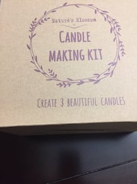 New candle making kit