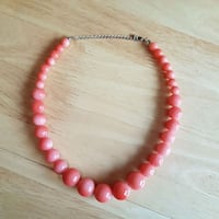 Pink pearl necklace Barrie