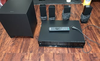 Sony 3D Bluray home theater system