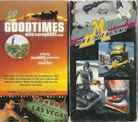 vhs GOODTIMES with Corey Hart Snow Motion 2 Men & Their Machines  (ref Newmarket
