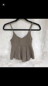 Garage Peplum Top