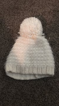 white knit bauble hat Taylorsville, 84129