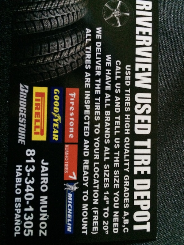 Used Riverview Used Tire Depot For Sale In Brandon Letgo