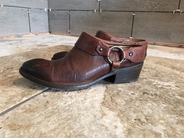 c219cd680e045 Used Frye Belted Mule clogs for sale in Lakeport - letgo