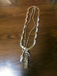 silver-colored chain necklace Brownsville, 78521