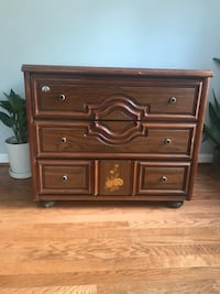 brown wooden 3-drawer chest Silver Spring, 20910