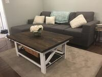 Rustic wooden coffee table Bradford, L3Z