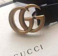 black and brown Gucci leather belt Baytown, 77520