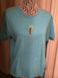 Women's Blue Lighthouse Apparel Shirt Size L 777 mi