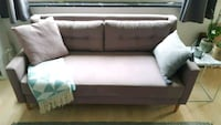 Stoff 2-Sitzer Sofa Couch