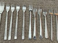 Pastry / Cake / Pie / Dessert Fork (13 Forks pieces) Calgary