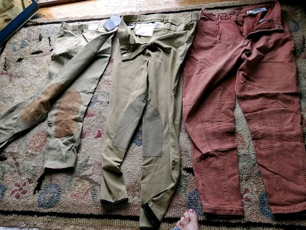 Riding breeches or pants