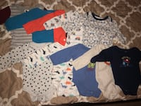 10 long sleeve onesies   rarely used   Good condition   Size: 3 to 6 months Silver Spring, 20906
