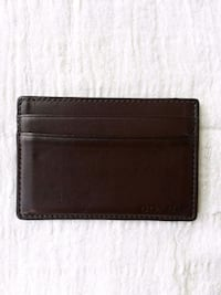 Man's small COACH card wallet