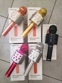 Brand new Karaoke Mic with Built-in wireless Speaker $40 each  Mississauga, L5W 0E7