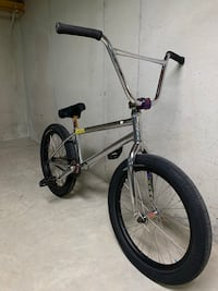 gray and black BMX bike Kaukauna, 54130