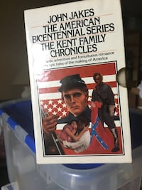 John jakes - American series of the Kent family chronicles.