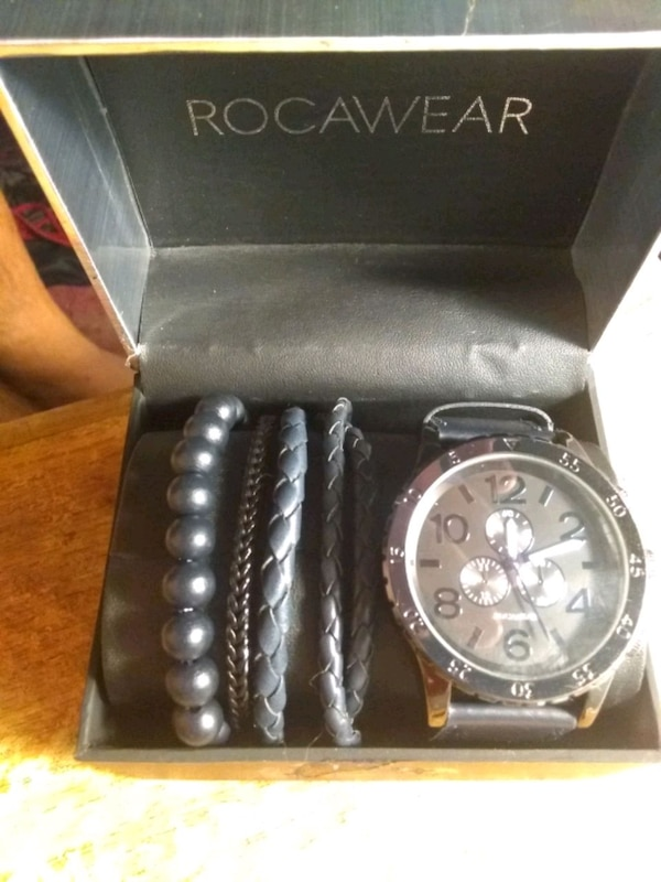 Used Rocawear Watch And Four Braclets For Sale In Philadelphia Letgo