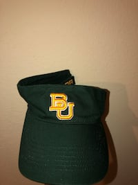 black and yellow fitted cap Houston, 77077