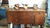 brown wooden sideboard Wasaga Beach, L9Z 1E6