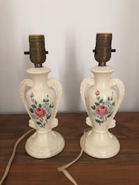 Pair of 10.5-Inch Vintage Ceramic Trophy Shapes Lamps Markham, L3P 3L9
