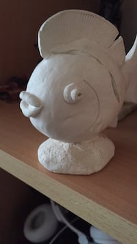 Antique clay fish Halifax, B4B