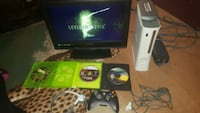 "White xbox 360 with 19"" tv and extras Richmond, 23231"