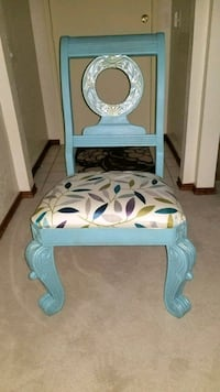 Refinished Accent Chair.
