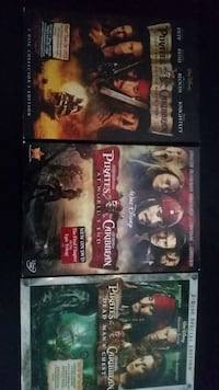 Pirates of the Caribbean dvds  Kingston, 12401
